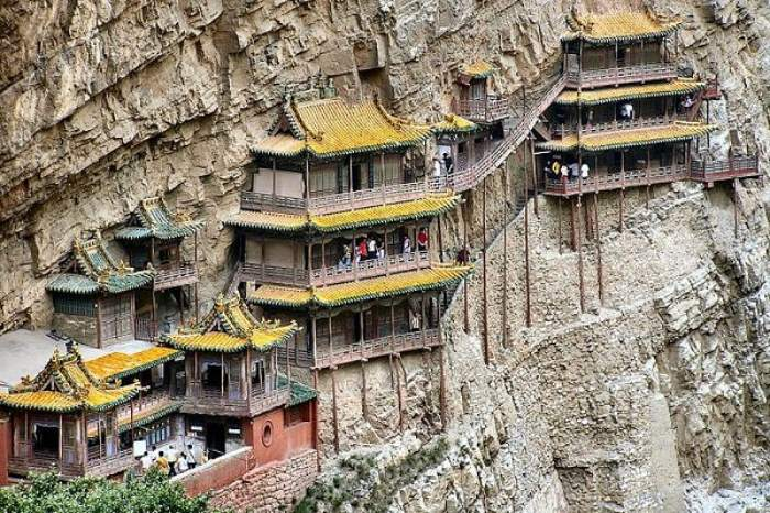 3 xuan kong monastery, china